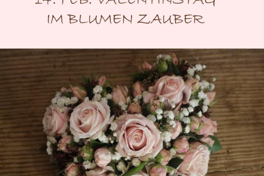 Valentinstag Im Blumen Zauber