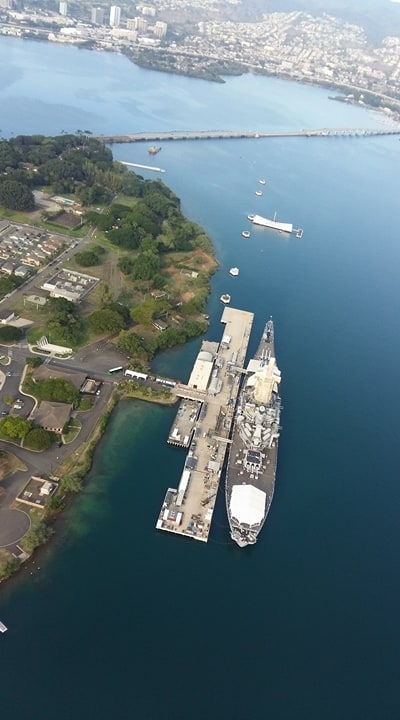 Der Hafen Pearl Harbor - Oahu, Hawaii.