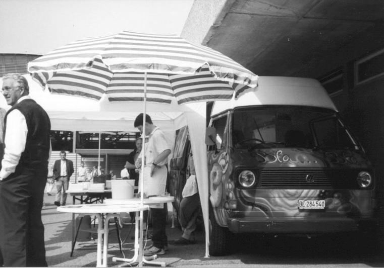 Der Crêpes-Bus war während mehreren Jahren regelmässig in Worb aufgestellt. (Bild: zvg)