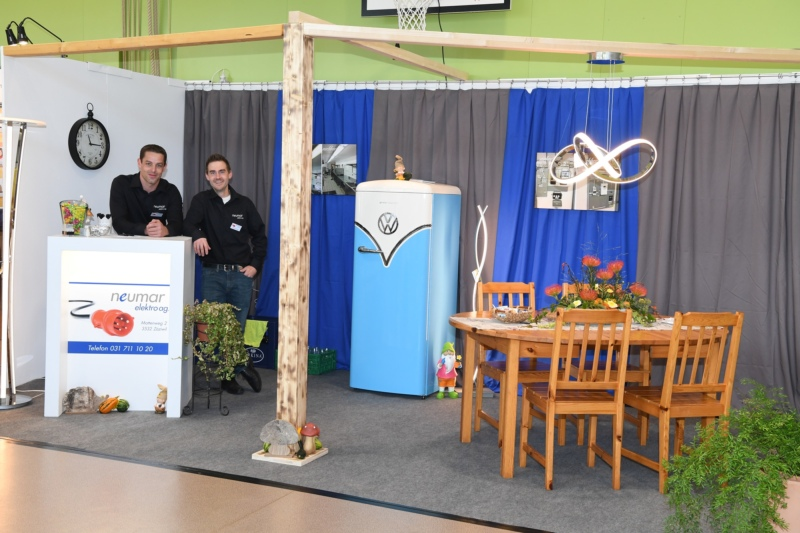Neumar Elektro AG mit Martin Neuenschwander und Philipp Thierstein.