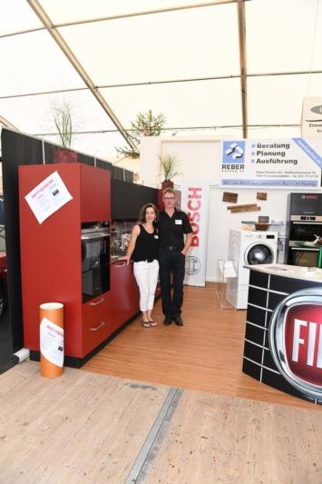 Reber Küchen AG mit Thomas und Margret Reber.