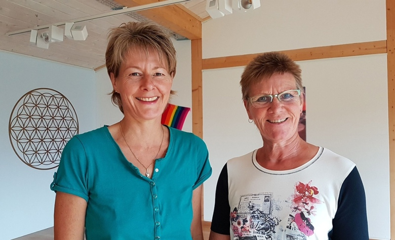 Eröffnen das neue Zentrum für Gesundheit und Vitalität: Margareta König (links) und Ruth Rohrer. (Bild: zvg)