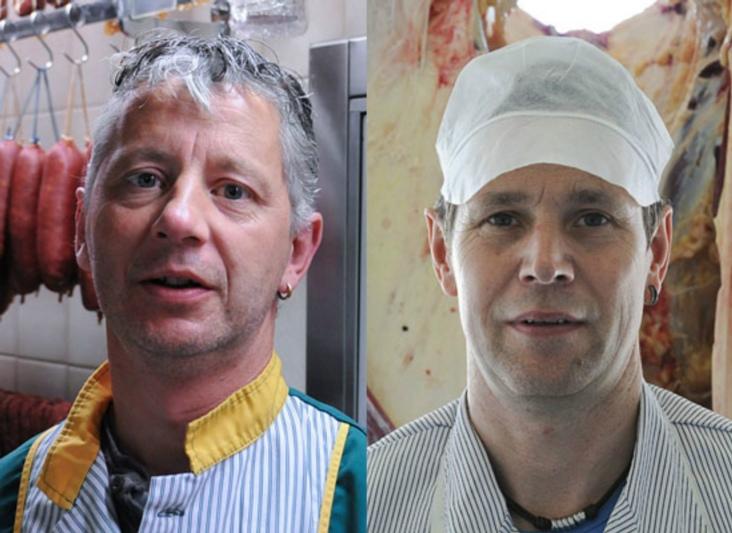 Paul und Christian Dällenbach leiten seit 1994 die Metzgerei Dällenbach AG. (Bild: metzgerei-daellenbach.ch)