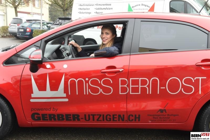 Schon bald wird Céline ihren Kia von der Garage Gerber Utzigen selber fahren dürfen.