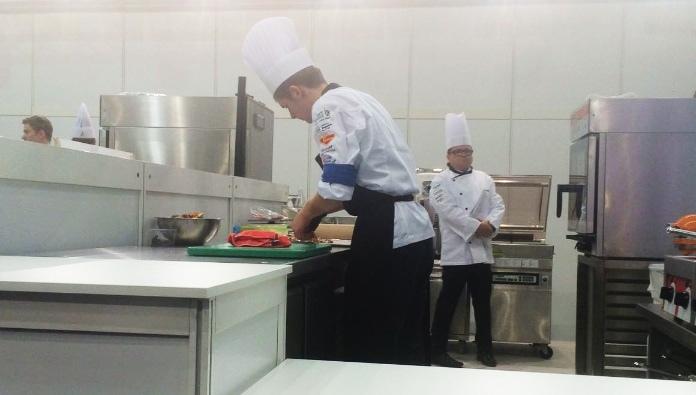 Stefan Löffel beim Wettbewerb am Sonntag. (Fotos: zvg)