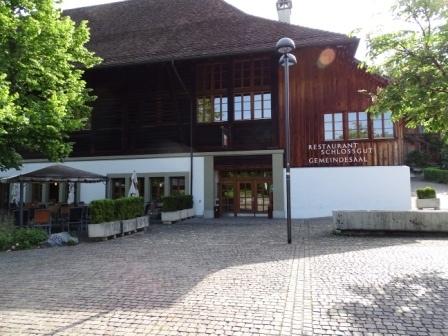 Beliebtes Veranstaltungslokal bei Vereinen: Der Gemeindesaal im Schlossgut Münsingen. (Bild: muensingen.gemeinde.ch)