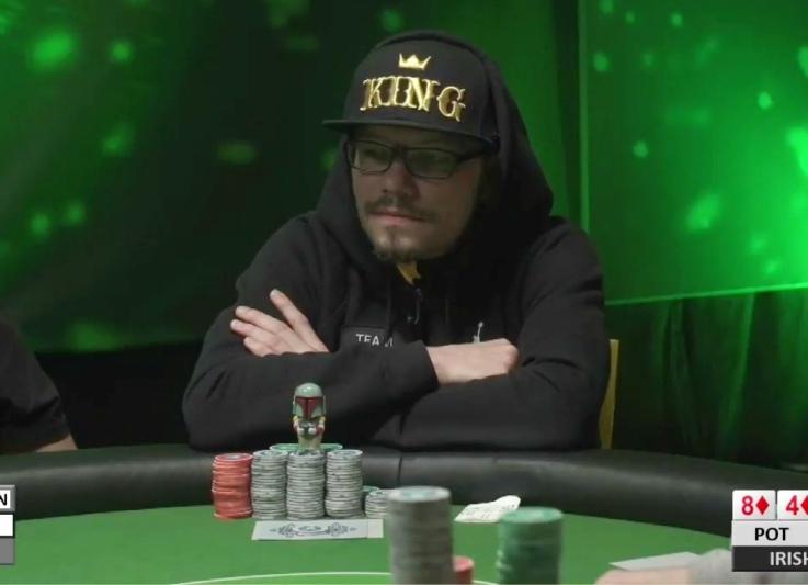 Pascal Baumgartner am Pokertisch. (Bild: zvg)