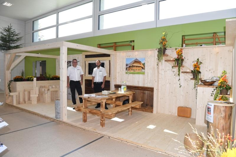 Röthlisberger Zimmerei AG mt Michael Röthlisberger und Philipp Aeschlimann.