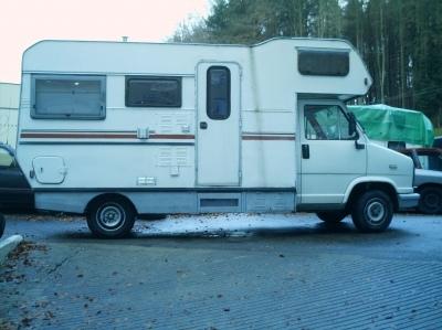 camper wohnmobil peugeot j5 diesel 2 5. Black Bedroom Furniture Sets. Home Design Ideas