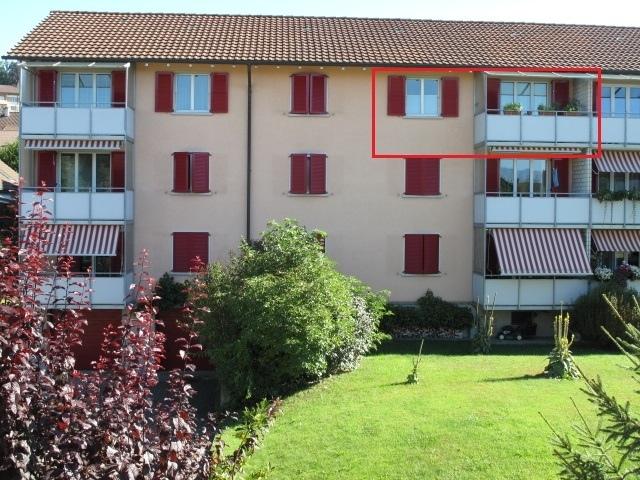 Haus mit Sicht auf freie Wohnung