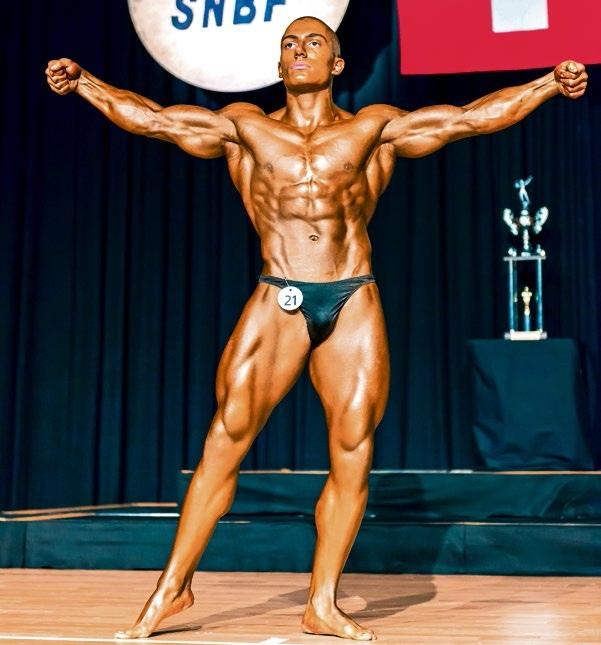 Er ist zurzeit einer der jüngsten und erfolgreichsten Bodybuilder der Welt: Patrick Kürzi (Bild: zvg)