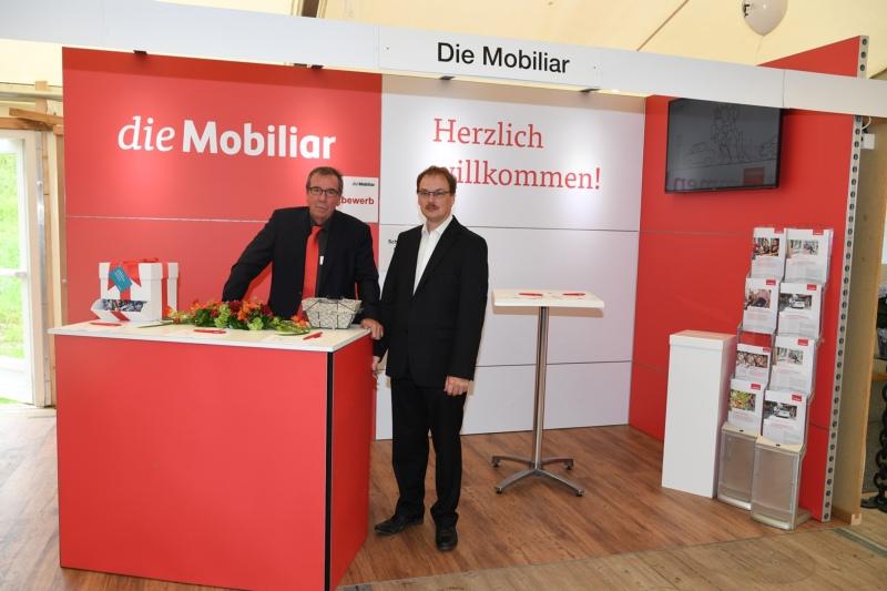 Die Mobiliar mit Peter Waltert und Ueli Kaufmann.