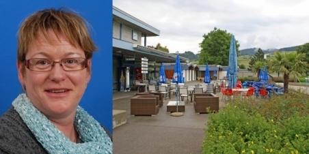 Hedy Gerber: Nach zwei Jahren wurde ihr Vertrag als Pächterin im Schwimmbad-Restaurant nicht verlängert. (Bild: zvg, Archiv BERN-OST)