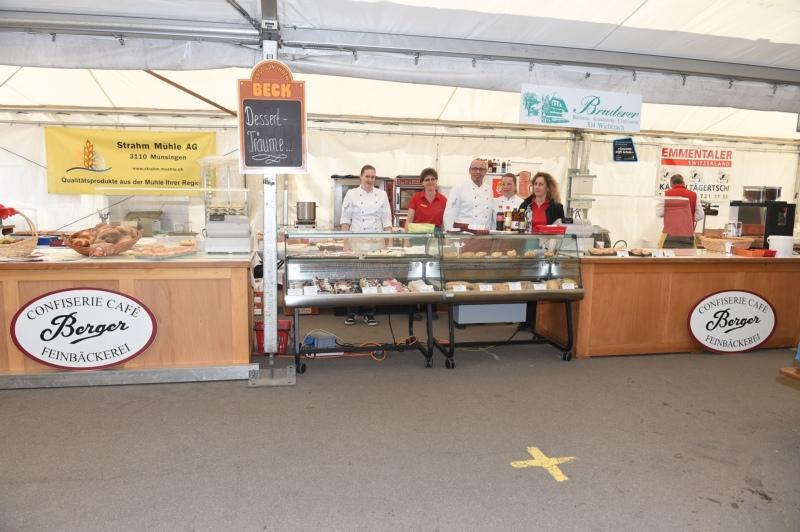 Bäckerei Konditorei Bruderer AG Wichtrach und Confiserie Berger AG Münsingen.