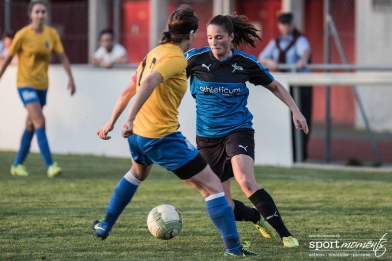 Elena van Niekerk gelang seit längerem wieder ein Treffer für die Worberinnen. (Bild: sportmoments.ch)