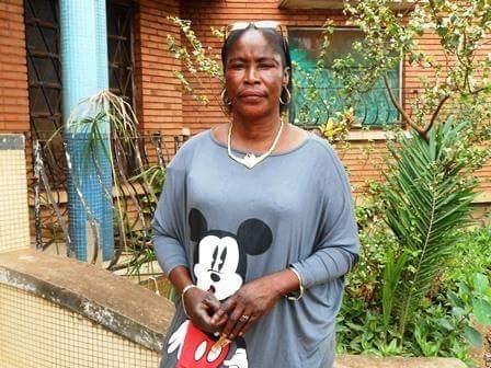Sara, die Verantwortliche vom Waisenhaus in Bangui, Zentralafrika